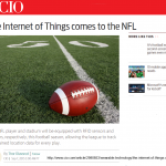 Big Data and IoT in Sports: Forecast Come True